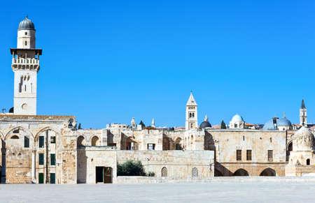 temple mount: Israel, Jerusalem, the Temple Mount (Har Habait) Stock Photo