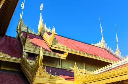 royal: Myanmar, Mandalay, the Royal Palace.