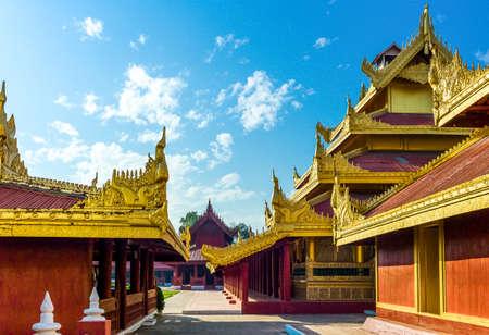 Royal Palace: Myanmar, Mandalay, the Royal Palace.