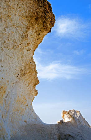ras: Qatar, Ras Abrouq, the large area with the picturesque limestone
