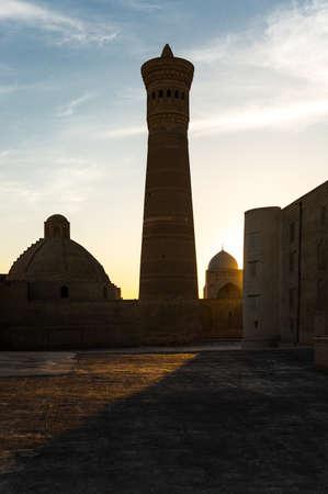 uzbekistan: Uzbekistan, Bukhara, the Kalon minaret and mosque