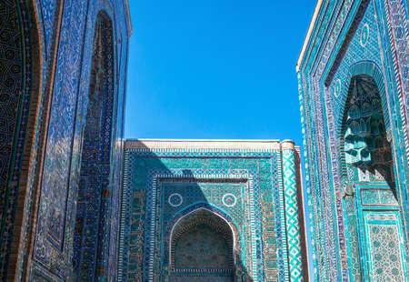 uzbekistan: Uzbekistan, Samarkand, the Shakhi Zinda Ensemble