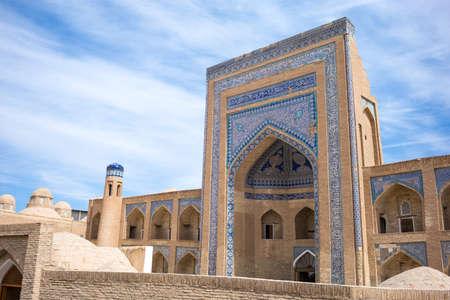 minor: Uzbekistan, Khiva, the Kalta Minor minaret at Muhammad Amin Khan Madrassah Editorial