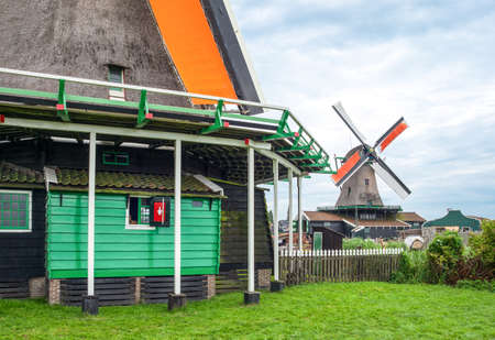 zaandam: Holland, Waterland district, Zaandam, typical houses
