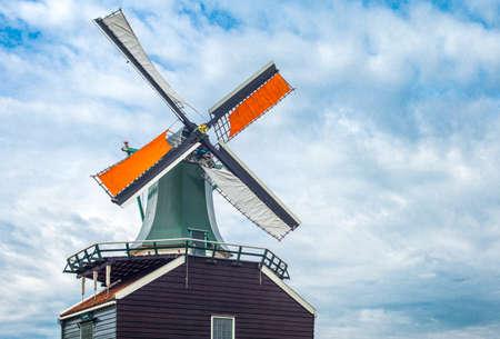 zaandam: Holland, Waterland district, Zaandam, the famous area of the mills