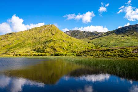 connemara: Ireland, Calway county, Connemara area, the Leenane lake