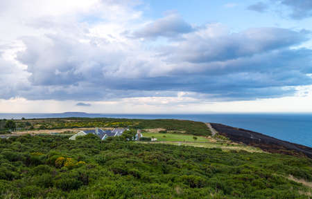 headland: Ireland, Dublin county, landscape from the Howth headland Stock Photo