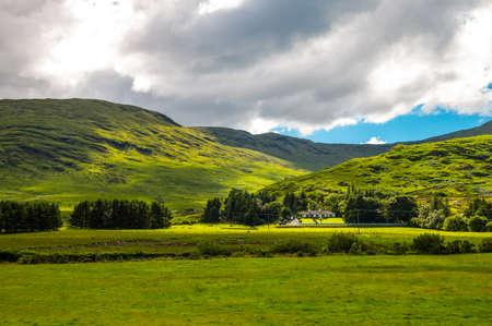 connemara: Ireland, Calway county, landscape of the Connemara area, Stock Photo