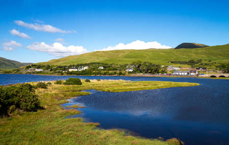 Ireland, Calway county, Connemara area, the Leenane lake