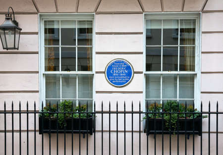 composers: London, the Frederic Chopin house Editorial