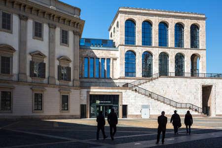 twentieth: Milan, Italy - April 12, 2012: The Museum of the twentieth century Editorial