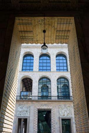 twentieth: Italy, Milan, the Museum of the twentieth century