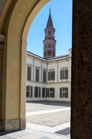 royal: Italy, Milan, the Royal Palace courtyard