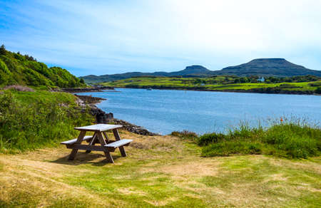 great britain: Great Britain, Scotland, Highlands, landscapes in the Lochash Stock Photo