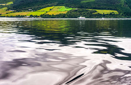 loch ness: Great Britain, Scotland, Highlands, the Loch Ness lake.