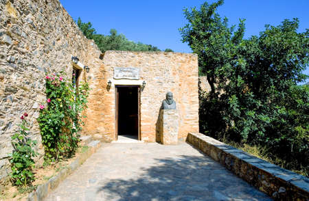 Greece, Crete, the Museum in the El Greco birthplace in the Fodele village
