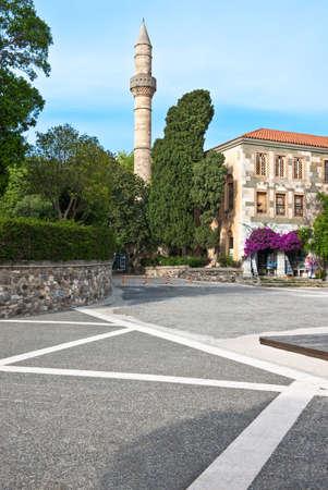 kos: Greece, Dodecanese, Kos, the Adid Hasaan mosque