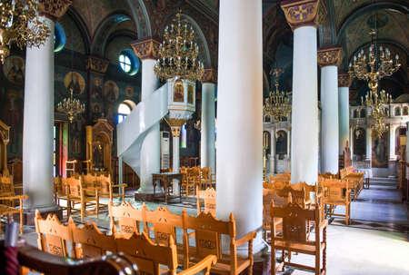 kos: Greece, Dodecanese, Kos,the Agia Paraskevis church Editorial