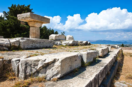 Greece, Dodecanese, Kos, the Asclepieion archaeological site
