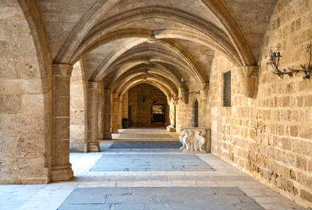 Greece, Dodecanese, Rhodes, the medieval Grand Master palace