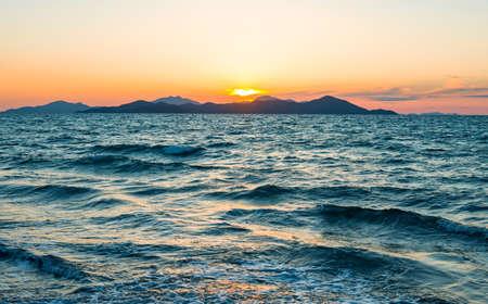 kos: Greece, Dodecanese, the Pserimos island seen from Kos