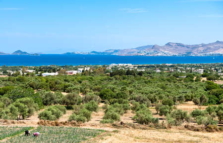 kos: Greece, Dodecanese, Kos, view on the island from Zia village