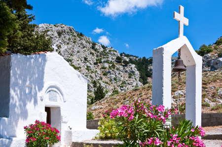 pili: Greece, Dodecanese, Kos, Agios Vasili church in Pili village