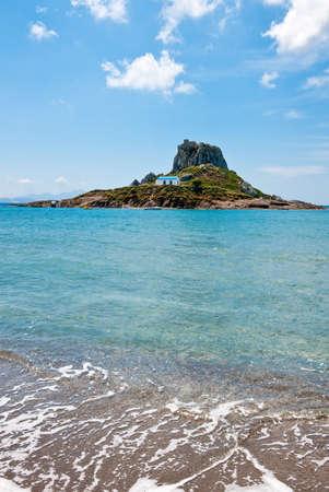 kos: Greece, Dodecanese, Kos, the Kefalos bay and the Kastri little island