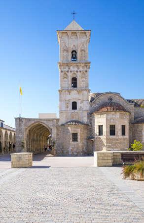 lazarus: Larnaka,  Creece - November 26, 2016: Cyprus island, the St. Lazarus church