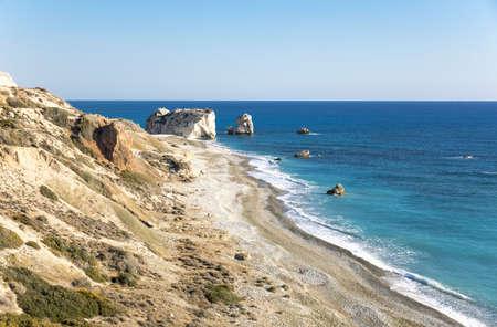 the aphrodite: Greece, Cyprus, the Petra Tou Romiou coast (Aphrodites Rock) who, according to legend, it is the birthplace of Aphrodite