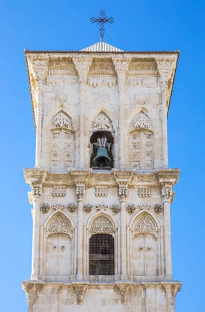 lazarus: Greece, Cyprus, Larnaka, the St. Lazarus church bell tower