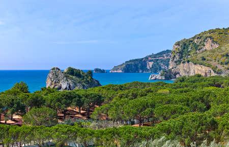 palinuro: Italy,Cilento, view of Capo Palinuro