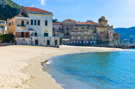 Italy,Cilento, Santa Maria di Castellabate, the beach