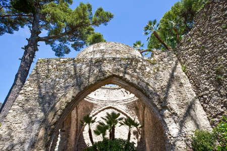 Italy, Amalfitana Coast, Ravello, Villa Rufolo, the Sala dei Cavalieri