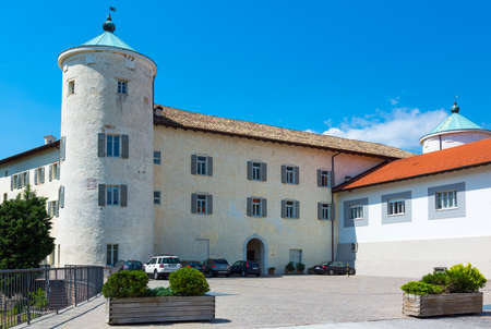 San Michele AllAdige, Italy - June 28, 2012: The Agostiniana abbey headquarter of the Fondazione Edmund Mach Editorial