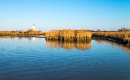 po: Italy, Po delta park, the Goro lagoon Stock Photo