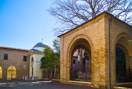 dante alighieri: Italy, Ravenna, the Dante Alighieri tomb