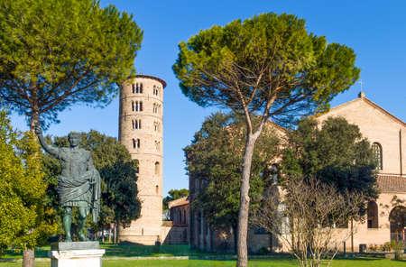 Italy, Ravenna, the S.Apollinare in Classe basilica