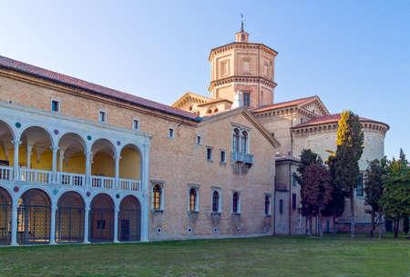 Italy, Ravenna, the Loggetta Lombardesca of S.Maria in Porto.