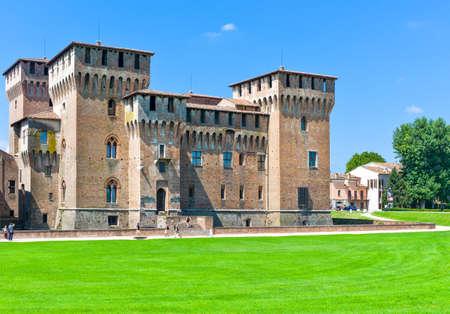 Mantova, Italy -  July 31, 2011: The San Giorgio castle