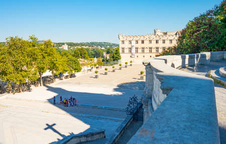 France, Avignon, Palace square, the Archbishops palace, also known as Petit Palace