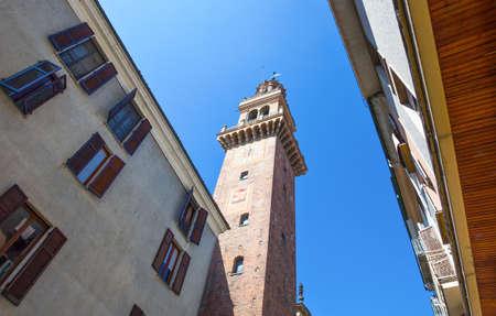 이탈리아, Piedmont, Casale Monferrato, Civic Tower의 상향도