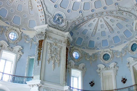 Isola Bella, Italy - July 15, 2005: The inside halls of the Borromeo Palace on the Maggiore jake