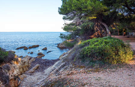 France, Cannes, sea views seen from St Honorat island