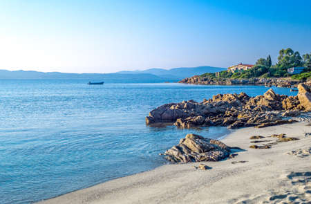 Italy, Sardinia, Olbia Tempio, the Lido of Pittolongu