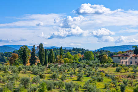 Italy,Tuscany,Florence,view from the Boboli garden belvedere