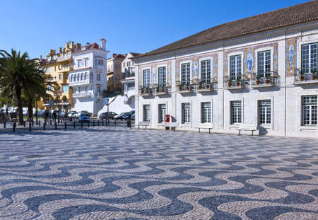 Portugal, Cascais, the town hall square and palace