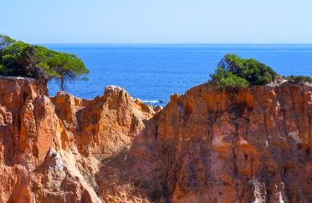 Portugal, Algarve, Albufeira, the Praia Da Falesia