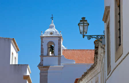 Portugal, Algarve, Lagos, architectures of the old town Banque d'images