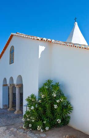 Portugal, Algarve, Punta da Rocha, the church of Nossa Senora Das Rochas